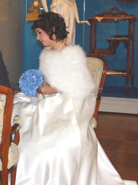 Люблино, дворец Н. А. Дурасова, невеста.