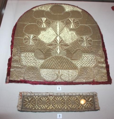 Золотное шитье. РИАМЗ