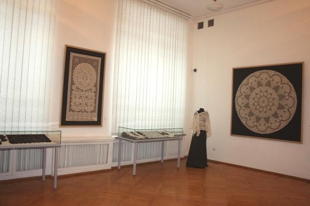 Тульский областной художественный музей. Выставка «Кружевные фантазии».