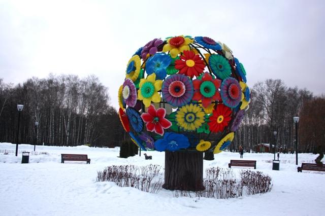 Тула.  Центральный парк культуры и отдыха имени П. П. Белоусова (1856-1896).