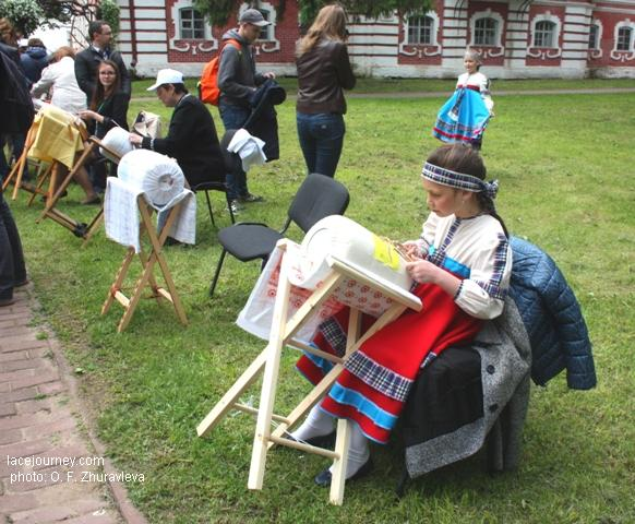 Вологда, 24 июня 2017 г. Акция «Аллея кружевниц».