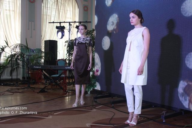 Вологда 2017 Фестиваль «VITA LACE»  Дефиле. Коллекция «Русский шик».