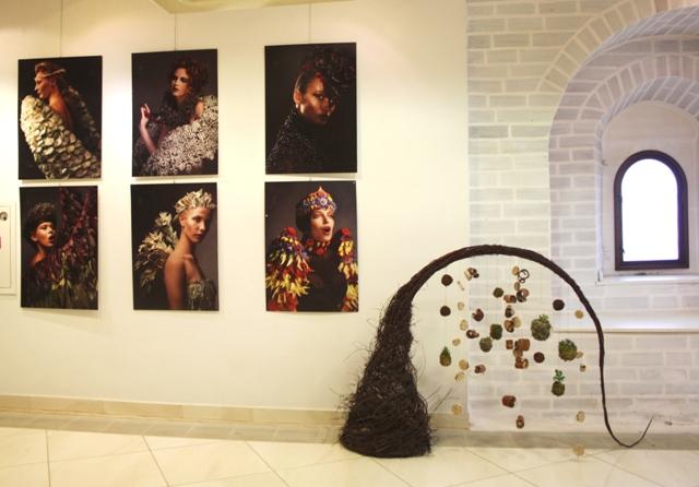 Выставка «Вплетая травы в кружева». Автор  Е. О. Антипина. Вологда.