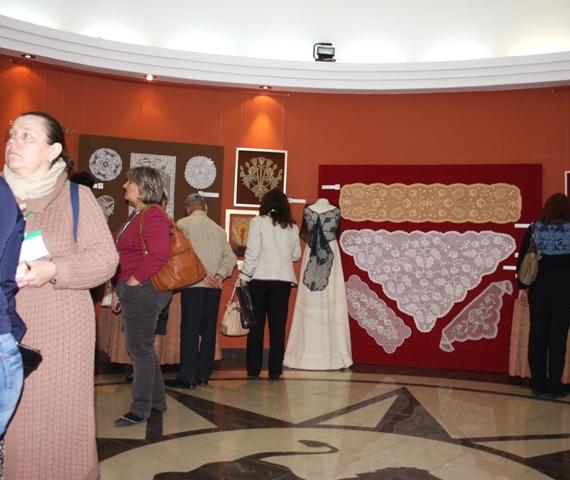 Вологда,  2017г. III Международный фестиваль «VITA LACE». Выставка-конкурс  «Кружево жизни».