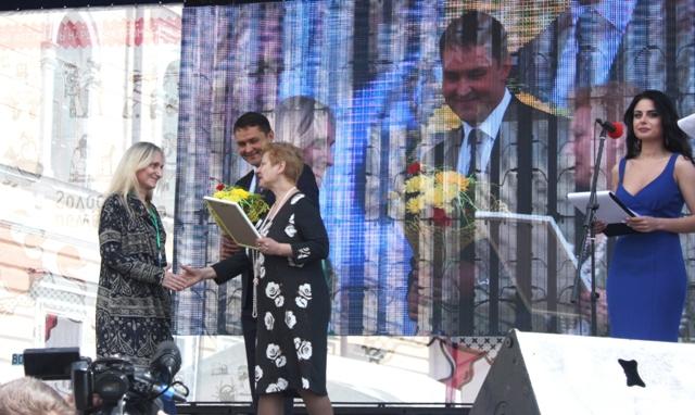 Вологда,  2017г. III Международный фестиваль «VITA LACE». Церемония награждения победителей выставки-конкурса «Кружево жизни».
