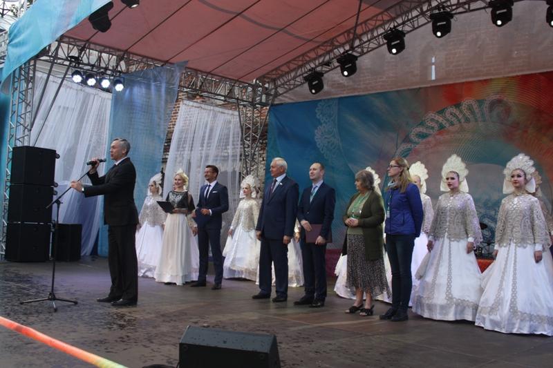 Торжественное открытие III Международного фестиваля кружева 2017 г.