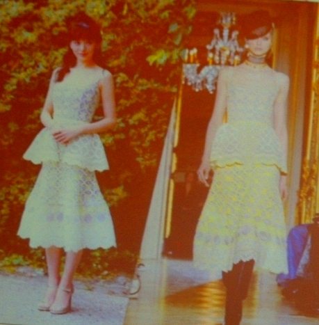 Ульяна Сергеенко.  Фотография представлена в анонсе выставки «Кружевные акценты».