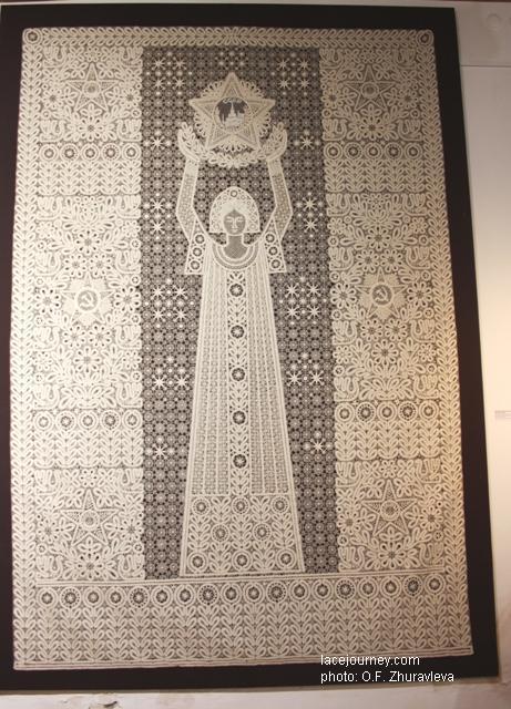 Панно «Праздник». 1975 г. Художники Мамровская Г. Н., Ельфина  В. Н.