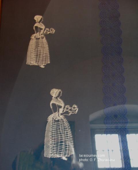 Дрезден. Музей саксонского народного искусства. Егерхоф. Выставка современных саксонских кружевниц. 2012 г.