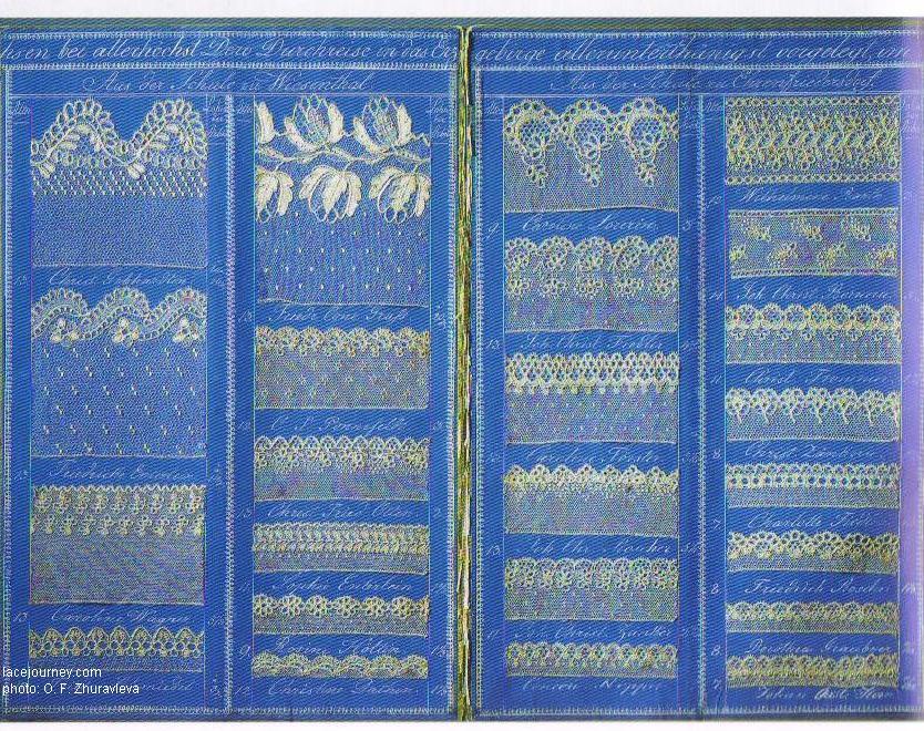 Дрезден. Музей саксонского народного искусства. Каталог коклюшечного кружева. 19- начала 20 века.