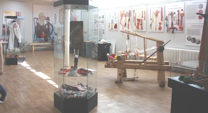 Серпухов. Музейно-выставочный комплекс. Выставка «От веретена до станка».