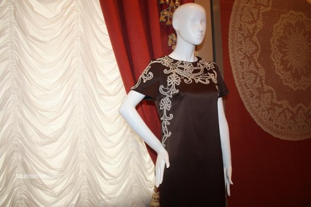 Платье, фрагмент. Коллекция «Русский шик», 2017 г