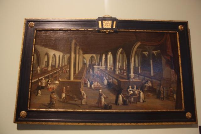 Брюгге. Музей Мемлинга.  Картина «Госпиталь Святого Иоанна».