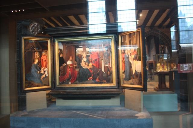 Ганс Мемлинг. Триптих  Яна Флоренса. 1479. Брюгге, Музей Мемлинга.