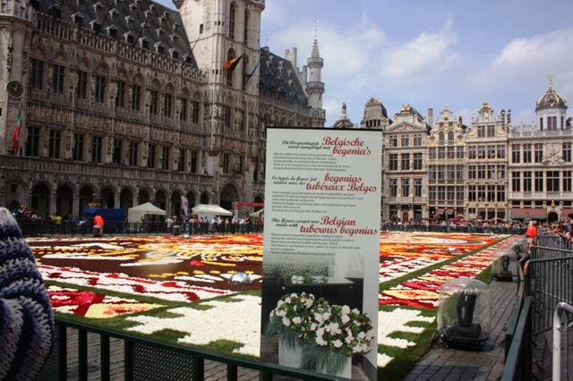 Брюссель, Гранд-Плас. 16 августа 2018 г.