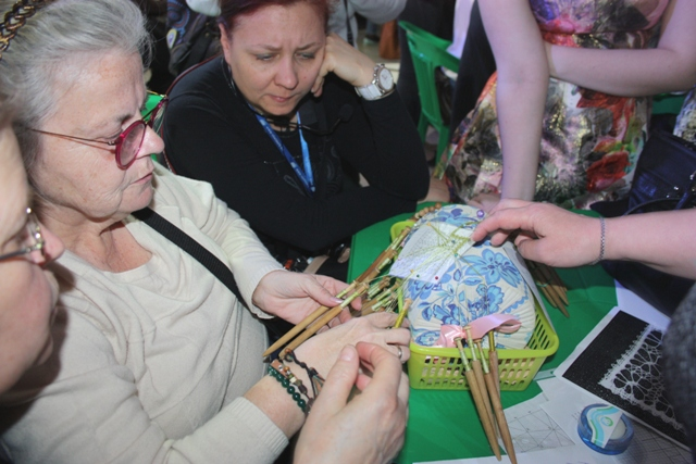Радужный, Владимирской области. IV Международный фестиваль  «Кружевная тропинка».