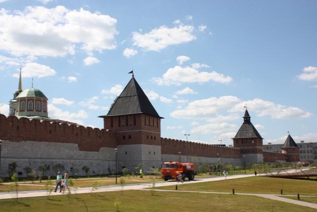 Тула. Кремлевские стены.
