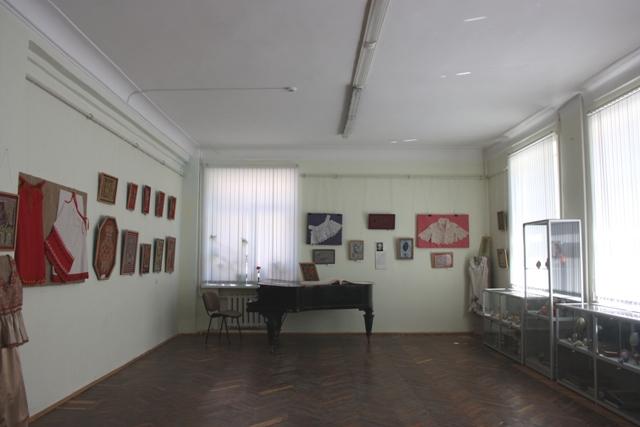 Зал музея Тульской духовной семинарии.