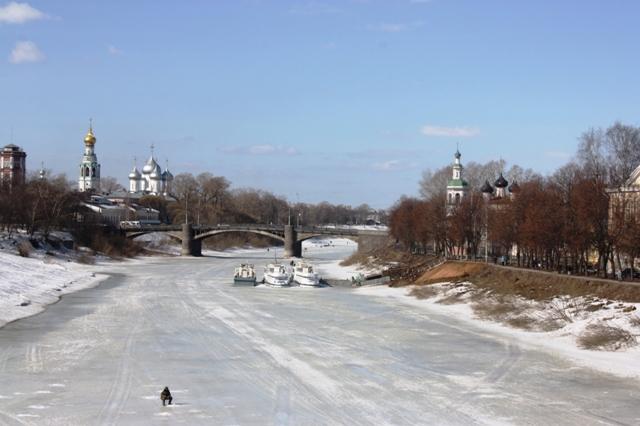 Вологда, 4 апреля 2018 года. Фото О. Ф. Журавлевой.