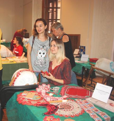 Христолюбова Дарья (Рязань).  Численная техника плетения, михайловское кружево.