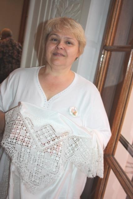 Инга Жукова, клуб коклюшечного плетения «Коклюшечка», Москва. Фото: О. Ф. Журавлева.