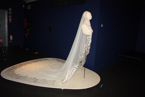 Кортрейк. Свадебная вуаль (фата). Кружево машинного производства. Конец 1920-х г.