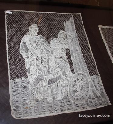 """Панно «Бельгия склоненная, но непобежденная» (анг. """"Belgium bowed but undefeated""""). Louise Liénaux – Vergauwe, Бельгия. 1916."""