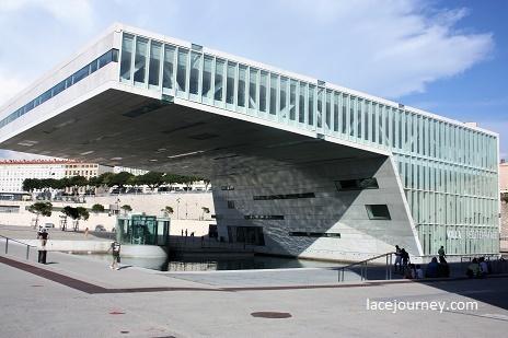 Марсель. Музей цивилизаций Европы и Средиземноморья (фр.Mucem).