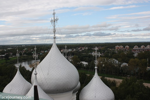 Вологда. 26 августа 2021 г. Купола Софийского собора.
